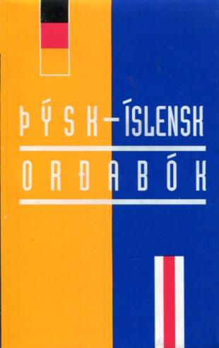 Þýsk - íslensk orðabók Ísafold