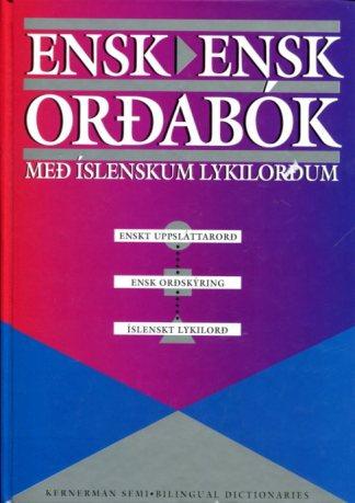 Ensk Ensk orðabók með íslenskum lykilorðum