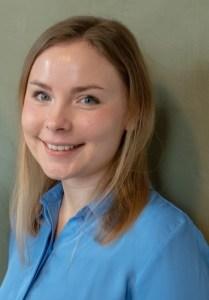 Praktikantin Katja Hoffmann