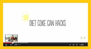 Diet Coke Can Hacks