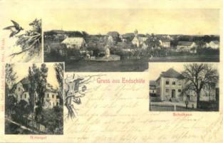 Endschütz Postkarte aus den 20iger Jahren