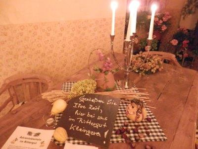 Weinverkostung im Rittergut Kleingera am 03.11.2012