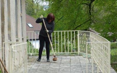 Frühjahrsputz in Kleingera am 25.04.2015