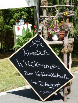 Kaffeeklatsch im Rittergut Kleingera am 18.08.2012