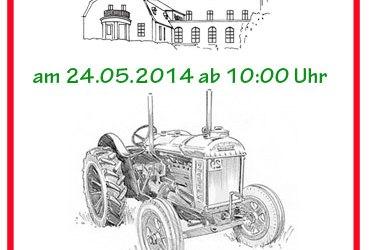 Traktortreffen im Rittergut Kleingera am 24.05.2014