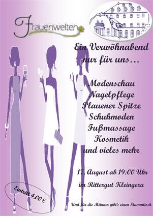 Frauenwelten am 17.08.2013