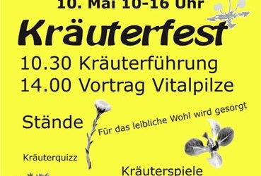 Kräutertag im Rittergut Kleingera am 10.05.2014