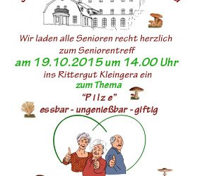 Seniorentreff am 19.10.2015