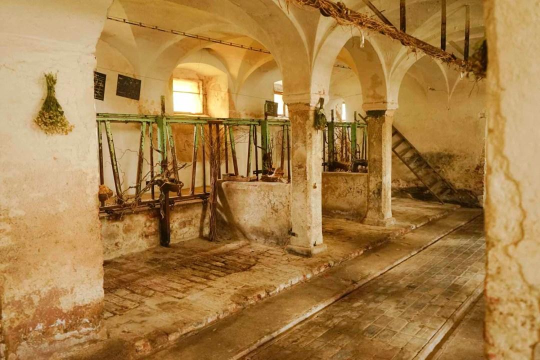 Historischer Stall Rittergut kleingera 03