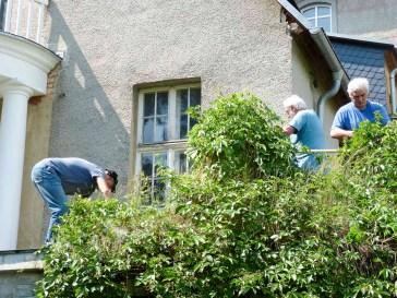 Rittergut Kleingera Arbeitseinsatz