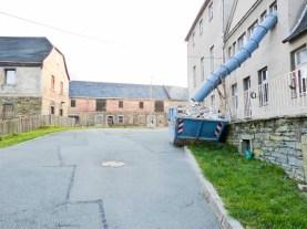 bilder dachsarnierung am herrenhaus ( anbau) rittergut kleingera 2015 02