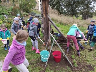 Die jungen Naturforscher starten in den farbenfrohen Herbst 2020