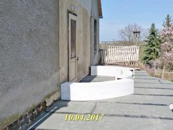 Durchgeführte Erhaltungsmaßnahmen am Herrenhaus Rittergut Kleingera 2017 09