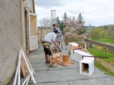 Durchgeführte Erhaltungsmaßnahmen am Herrenhaus Rittergut Kleingera 2017 13