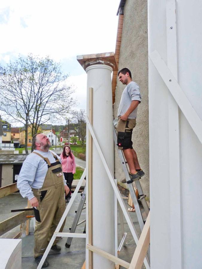 Durchgeführte Erhaltungsmaßnahmen am Herrenhaus Rittergut Kleingera 2017 14