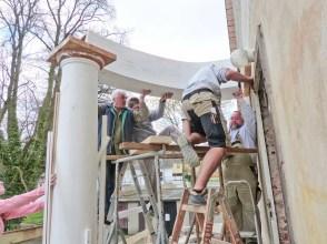 Durchgeführte Erhaltungsmaßnahmen am Herrenhaus Rittergut Kleingera 2017 16