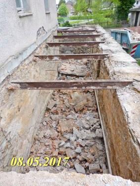 Durchgeführte Erhaltungsmaßnahmen am Herrenhaus Rittergut Kleingera 2017 24