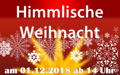 Himmlische Rittergutsweihnacht 01.12.2018