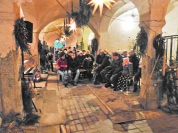 Krippenspiel der ev. -luth. Kirchgemeinde Netzschkau im Rittergutsstall