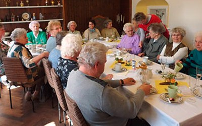 Seniorentreff im Rittergut am 14.04.2014
