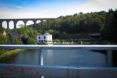 Viadukt mit Brücke