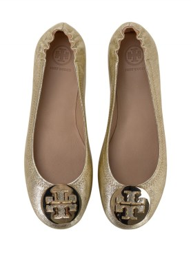 tory burch metallic minnie