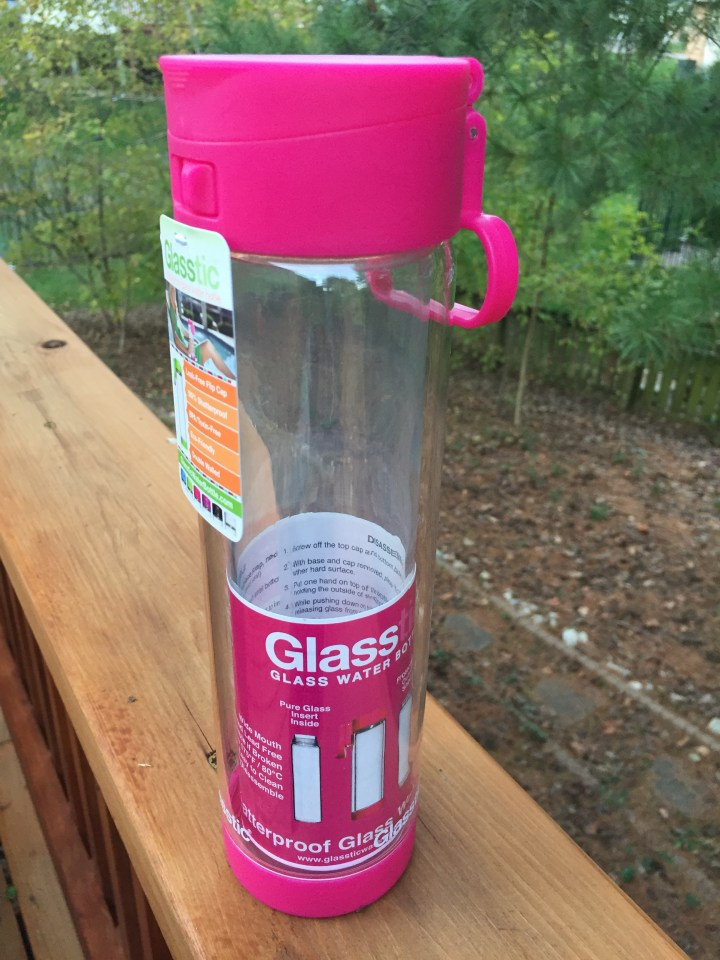 Review of Glasstic Shatterproof Water Bottle  (Video Tutorial Included)