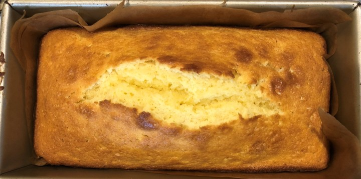 All butter pound cake