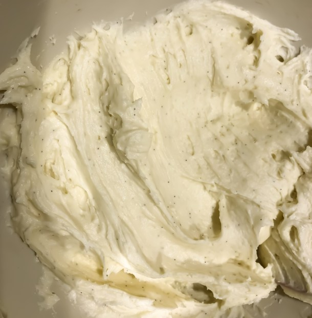 Cream Cheese and Vanilla Bean Frosting