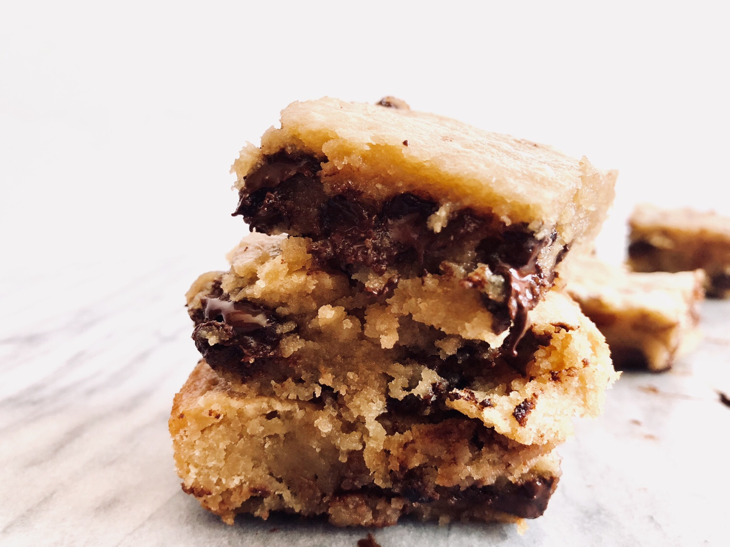 Maple Bourbon Blondies with Browned Butter