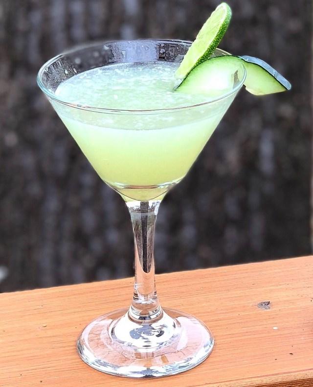 Cucumber Lime Martini