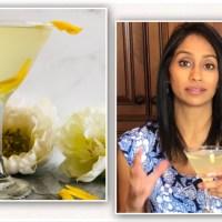 Lemon Elderflower Martini