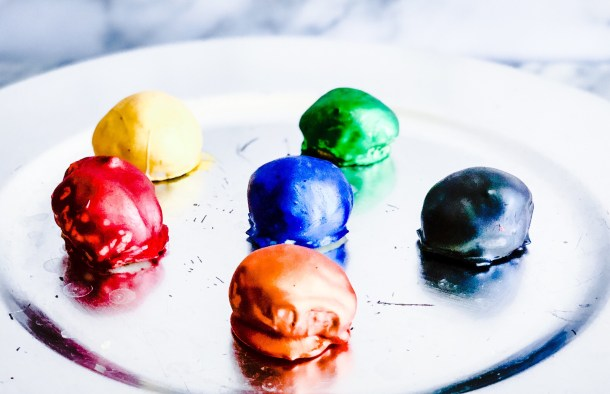 avengers themed infinity stones chocolates