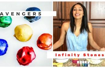 Edible Avengers Infinity Stones