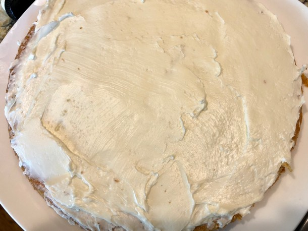Elderflower Cake Layer