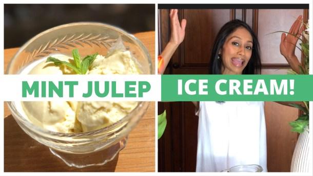 Mint Julep Ice Cream Recipe