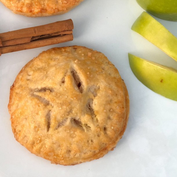 Captain America Apple Hand Pies