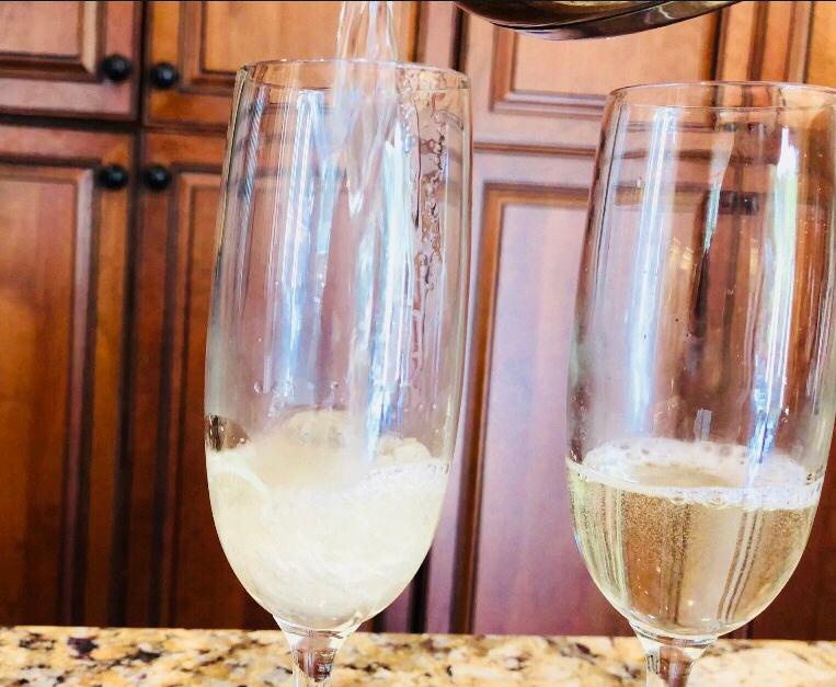 champagne gelee dessert recipe