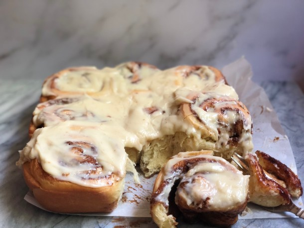Coconut Milk Cinnamon Rolls