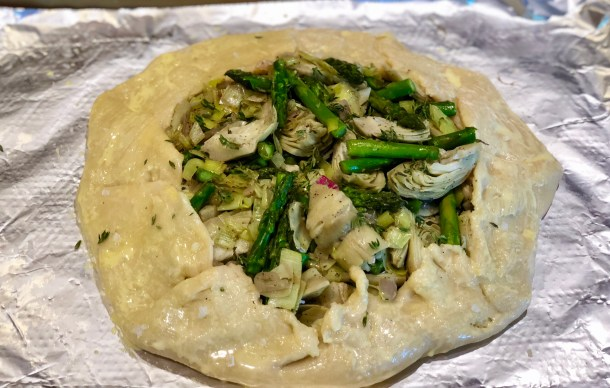 How to make a Vegetable Galette