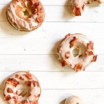 baked bacon maple donuts