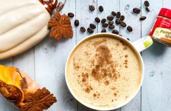 pumpkin pie spice latte