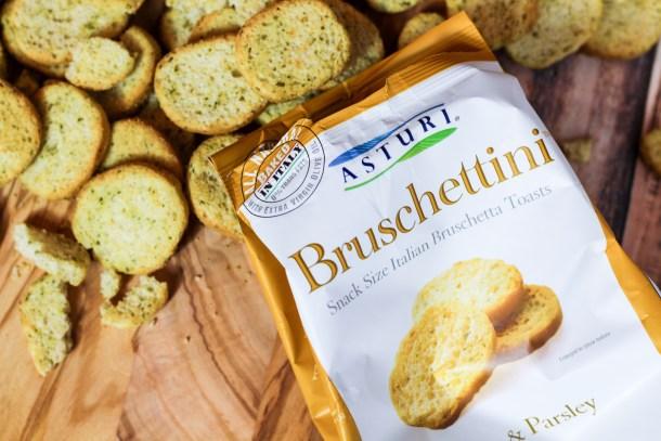 Garlic & Parsley Bruschettini by Asturi Foods