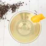 clarified milk punch earl grey lemon