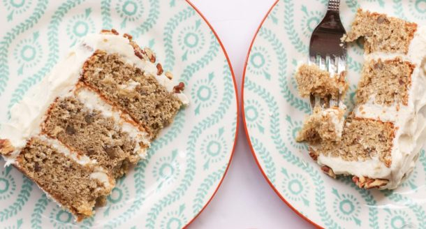 browned butter hummingbird cake