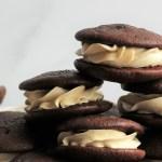 Chocolate Irish Cream Whoopie Pies