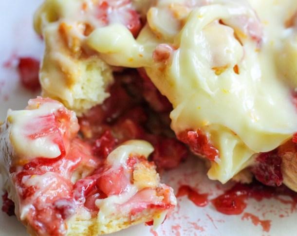 strawberry buns recipe