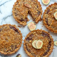 Fig Apple Walnut Tarts