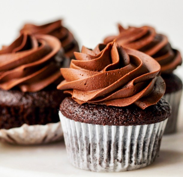 ginger cardamom chocolate cupcakes