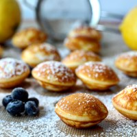 Dutch Mini Pancakes (Poffertjes) & A Big Announcemnt